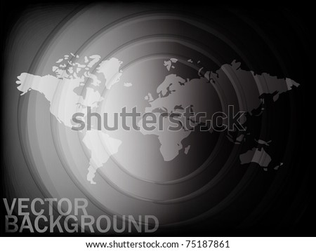 Abstract world map background
