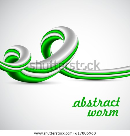 abstract worm