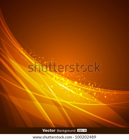 Abstract yellow and orange background design. vector illustration