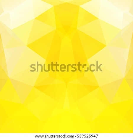 abstract yellow mosaic