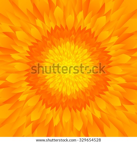 abstract yellow   orange tones