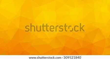 abstract yellow triangle