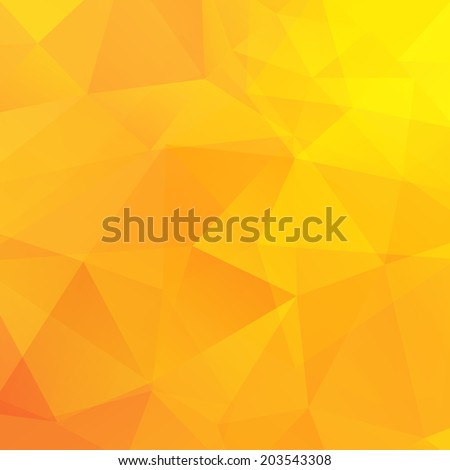 abstract yellow triangles