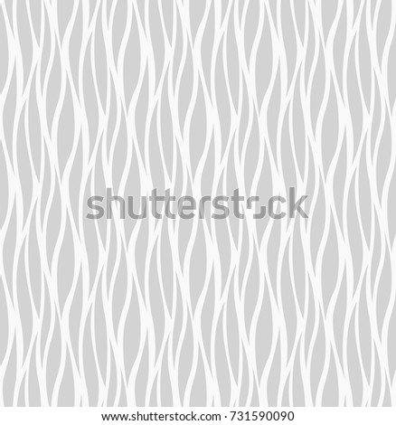 Abstract Zebra lines texture. Vector Seamless Pattern. Trendy stripes background.