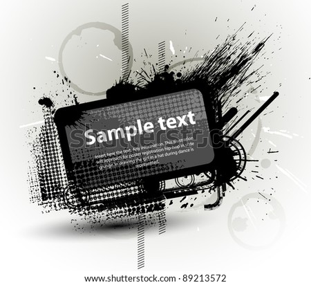 Abstraction grunge background.vector