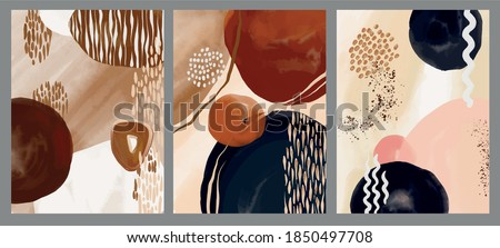 Abstraction. Painting. Abstract painting. brush strokes, water color stains, the texture of paint. Composition. Lines. Minimalistic style. Hand painting.