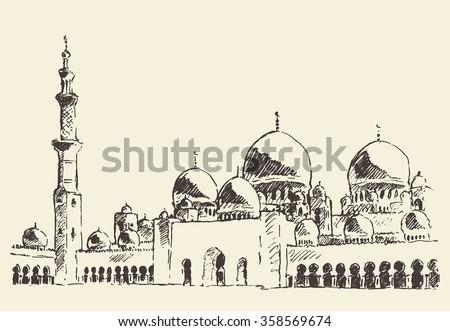 abu dhabi main mosque  sheikh