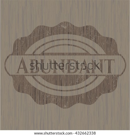 Abundant wood signboards