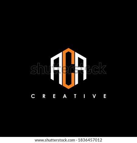 ACA Letter Initial Logo Design Template Vector Illustration  Imagine de stoc ©