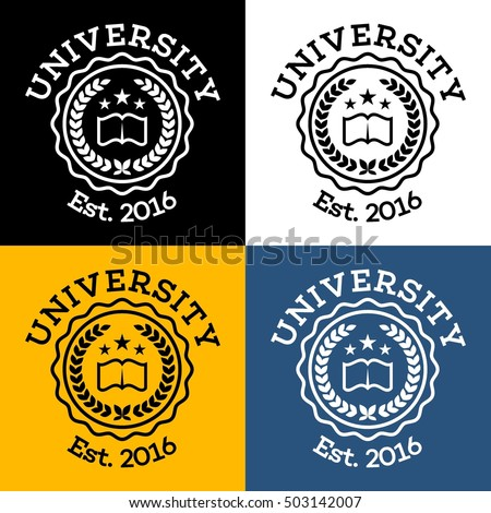 Academy, university, college logo