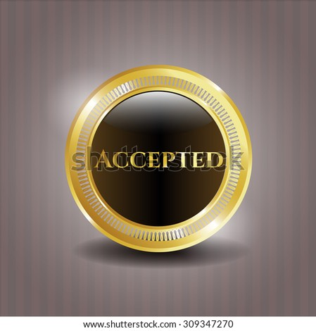 Accepted gold badge