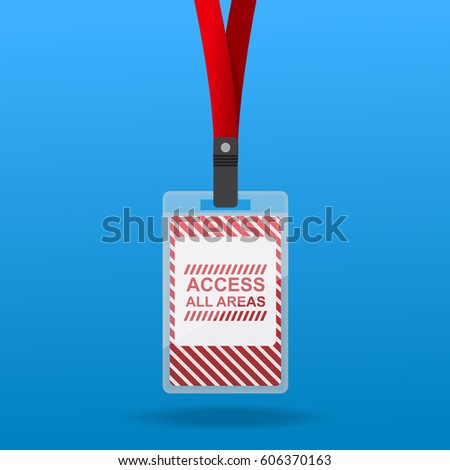 Access All Area Staff Card