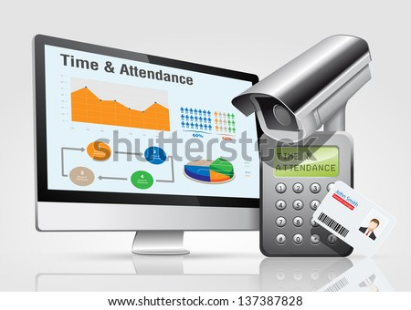 Access control and time & attendance system