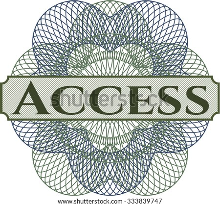 Access linear rosette