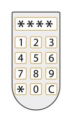 Access panel vector illustration