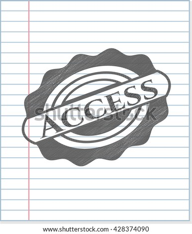 Access penciled