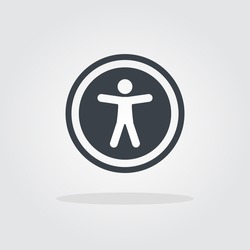 Accessibility Icon, universal accessibility sign