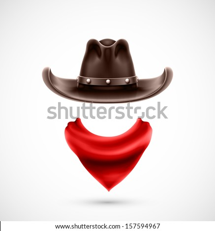 accessories cowboy  hat and