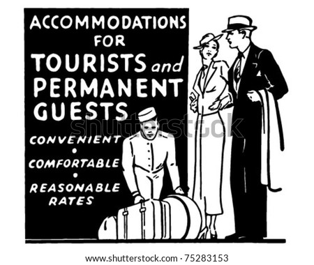 accommodations for tourists  ...