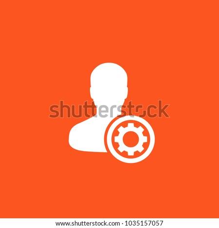 account, profile settings icon