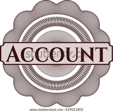 Account rosette