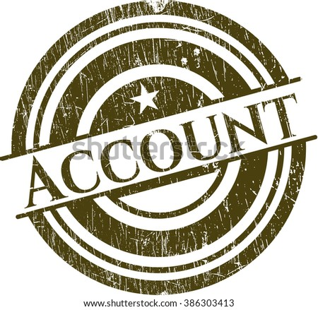 Account rubber texture