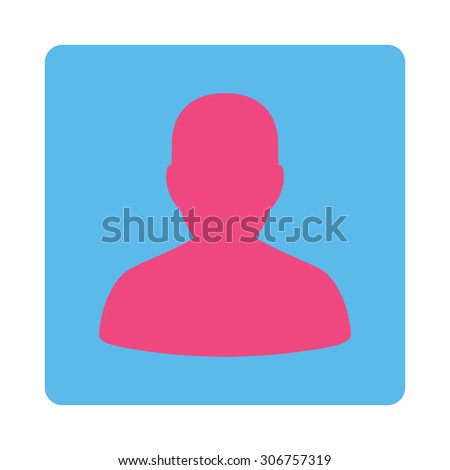 account vector icon this flat