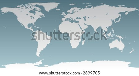 World map with latitude and longitude download free vector art accurate map of the world includes antarctica maps to a sphere to make a gumiabroncs