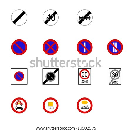 Accurate Traffic/Road Signs & Indicators