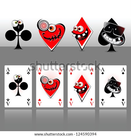ace cards smile