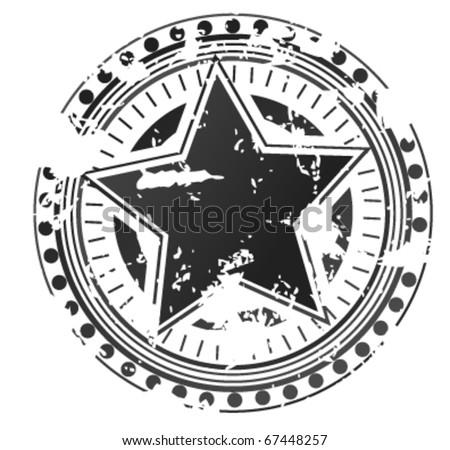 achievement stamp