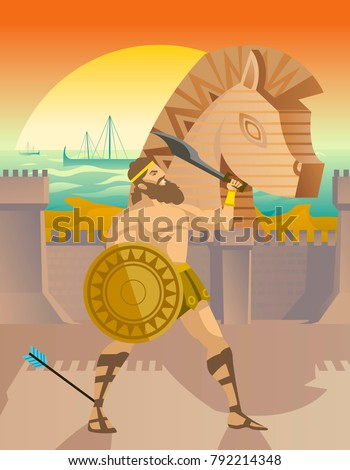 achilles in troy war