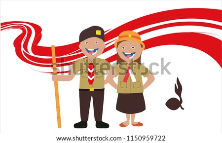 acouple of students  scout