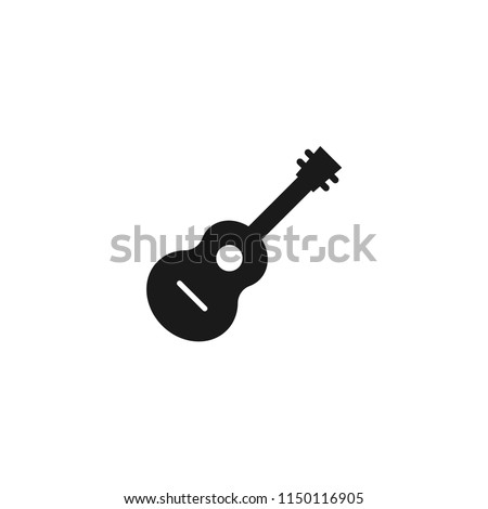acoustic guitar vector icon.classic,instrument, musical,rock,sound,acoustic,string, play,electric,concert,song,musician,guitarist symbol for web and mobile app