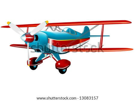 Acrobatic Pitts Special (VECTOR) fully editable fuselage