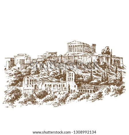 acropolis of athens is an