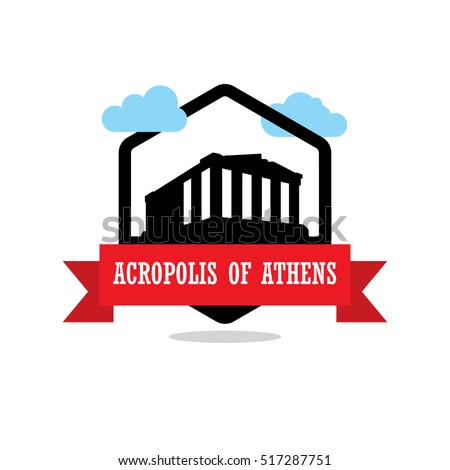 acropolis of athens ribbon