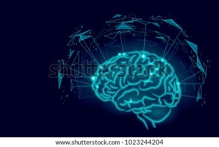 active human brain artificial