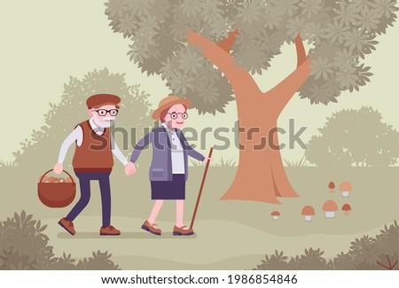 active seniors  happy healthy