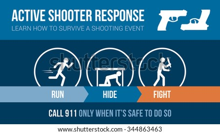 active shooter response safety