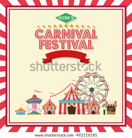 Activities of carnival and festival design