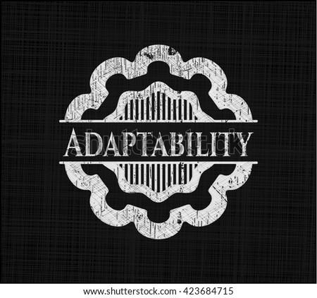 Adaptability on chalkboard