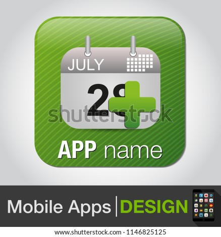 add event - calendar with add sign icon, add date to calendar, calendar symbol