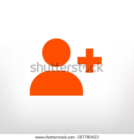 add people, vector icon