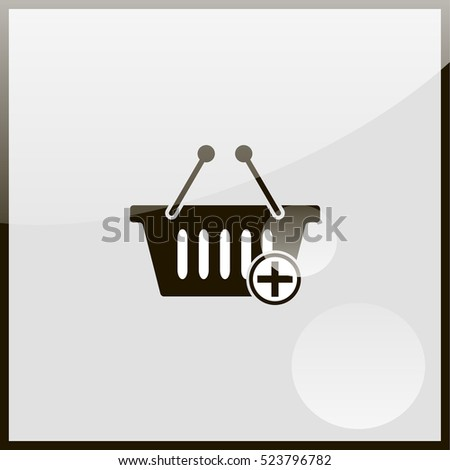 Add to shopping basket icon.
