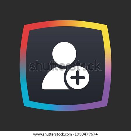 Add User - App Icon Button