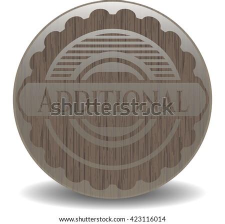 Additional wood emblem. Vintage.