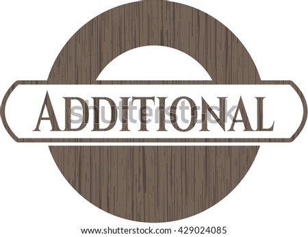Additional wood icon or emblem