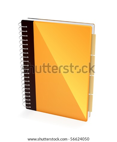 Address book icon for applications - stock vector