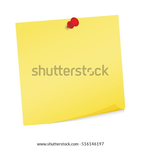 adhesive note post it vector